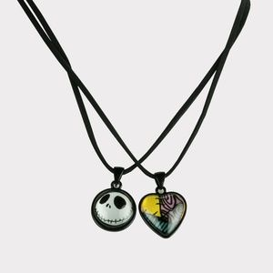 Nightmare Before Christmas 2pk Necklace Set 3010